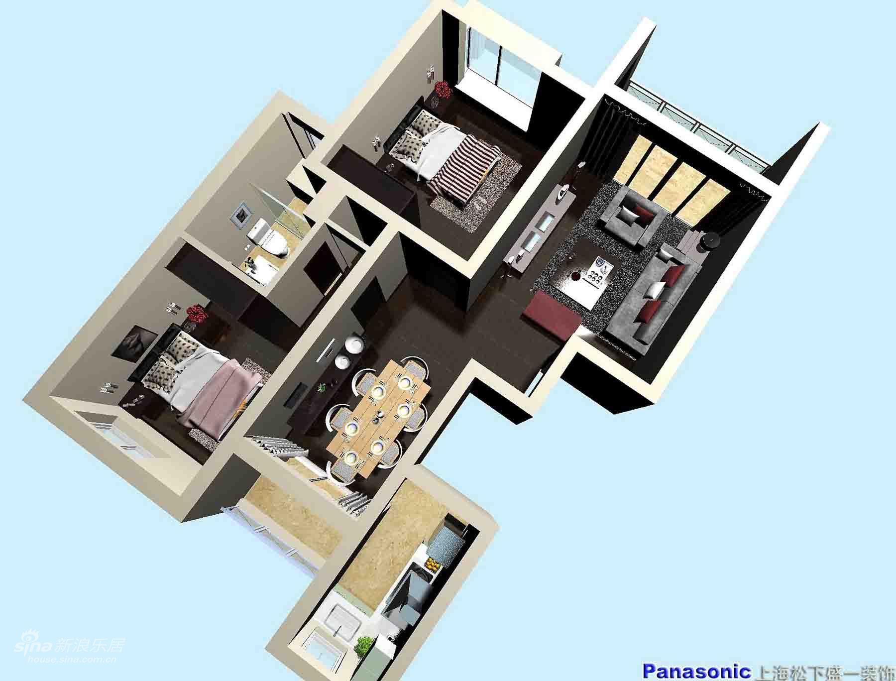 其他 三居 客厅图片来自用户2558757937在松下盛一:地中海风情居15的分享