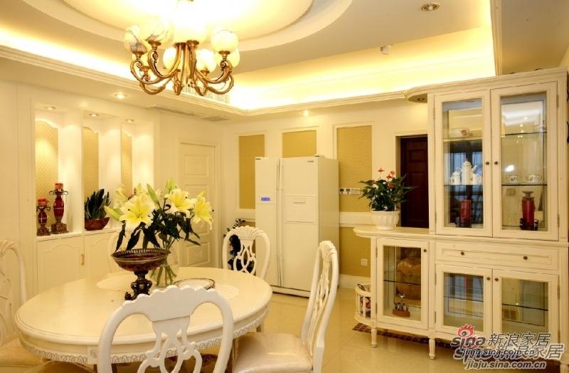 欧式 三居 餐厅图片来自用户2557013183在【多图】海棠湾欧美风格设计69的分享