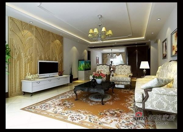 田园 二居 客厅图片来自用户2557006183在富丽桃园奢华迷人田园风格爱家78的分享