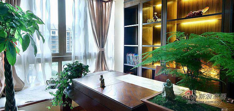 现代 二居 书房图片来自装修微日记在【高清】夫妻12万打造96平现代雅致居85的分享