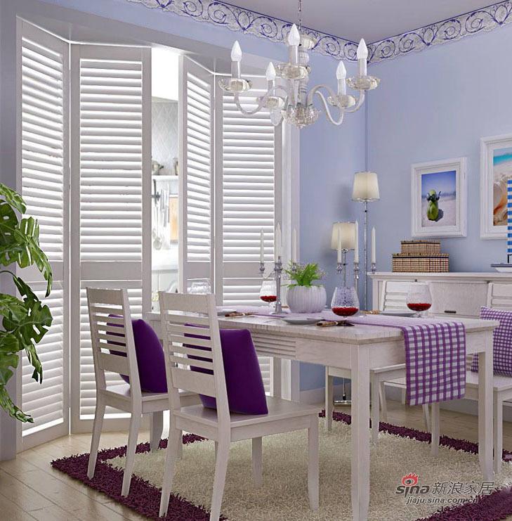 欧式 复式 餐厅图片来自用户2746889121在阳光地中海64的分享