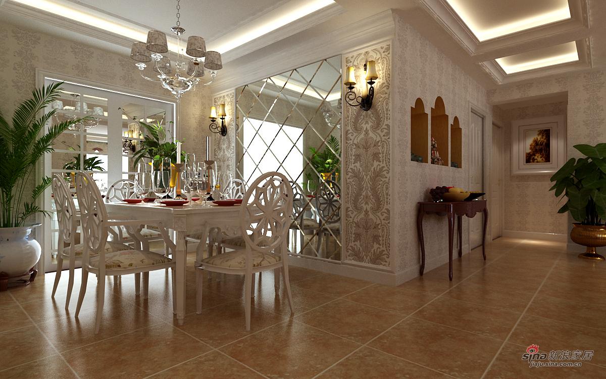 其他 三居 餐厅图片来自用户2771736967在优雅白调三居室30的分享