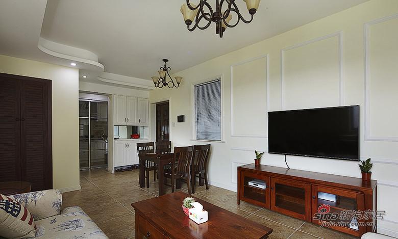 混搭 二居 客厅图片来自用户1907691673在【高清】92平中西合璧混搭精致家13的分享