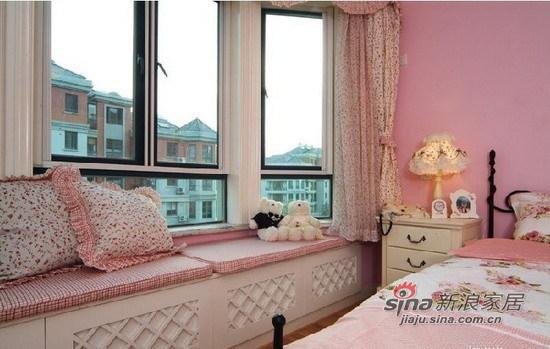 田园 其他 卧室 公主房唯美 温馨 背景墙 飘窗图片来自用户2557006183在7.6万梦幻田园温馨婚房3居70的分享