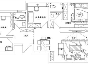 """【多图】12.5万打造109平""""家""""的新定义82"""