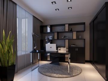 设计师设计幸福时代95平米简约风格装修设计52