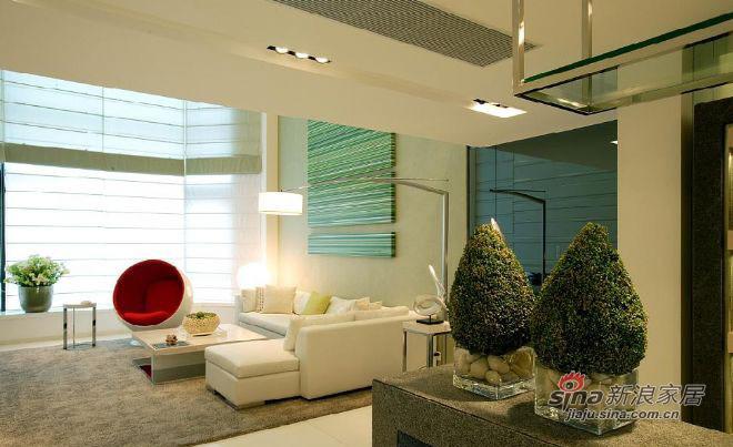 简约 一居 客厅图片来自用户2739081033在广州金海湾复式样板房13的分享