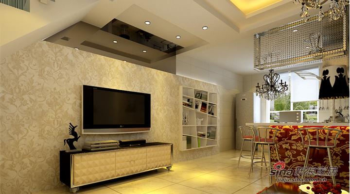 简约 二居 客厅图片来自用户2737950087在天津实创装饰—6.6万打造80平现代简约之家99的分享