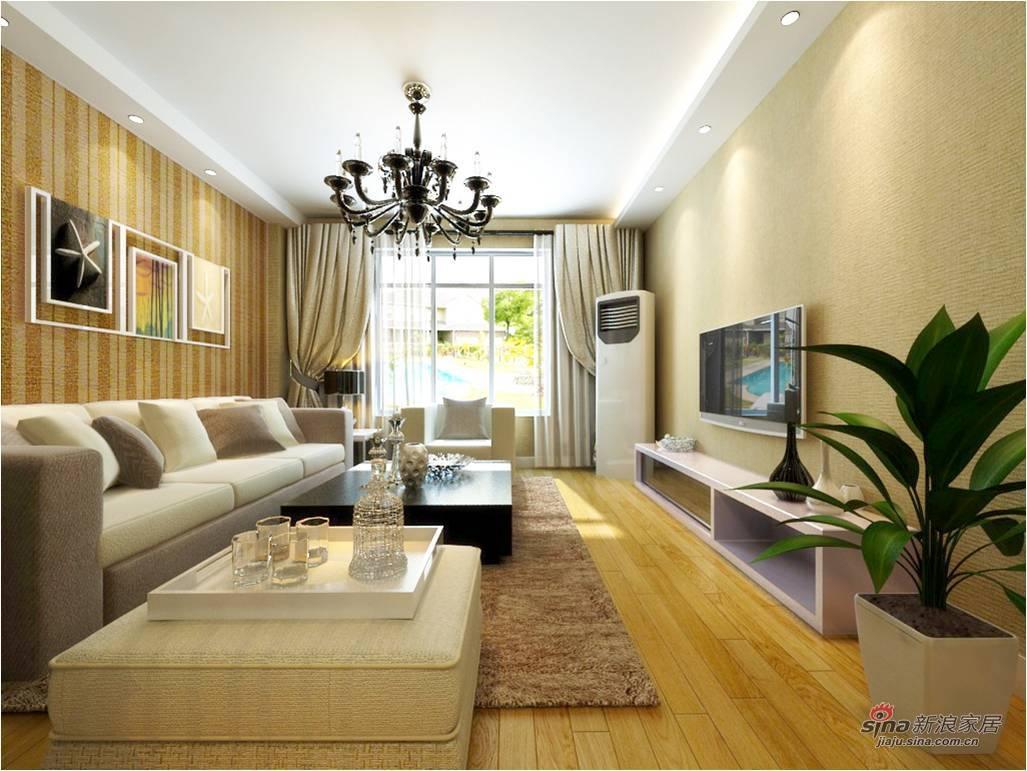 简约 三居 客厅图片来自用户2557979841在美观又实用的简约三居室76的分享