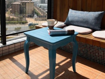 【高清】秋季温馨风格83平两居室设计77