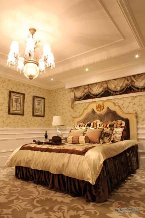 美式 别墅 卧室 奢华 公主房图片来自用户1907685403在【多图】美式别墅-内敛的奢华45的分享