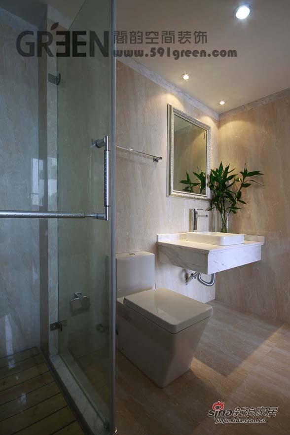 欧式 三居 卫生间图片来自用户2746889121在新上海印象——银魅水晶80的分享