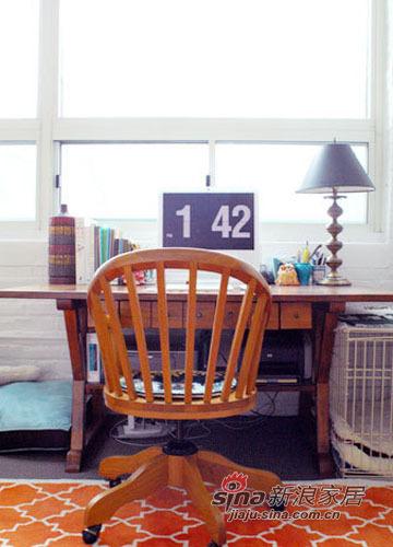 简约 二居 书房图片来自用户2558728947在色彩控精心设计70平艺术感美家74的分享
