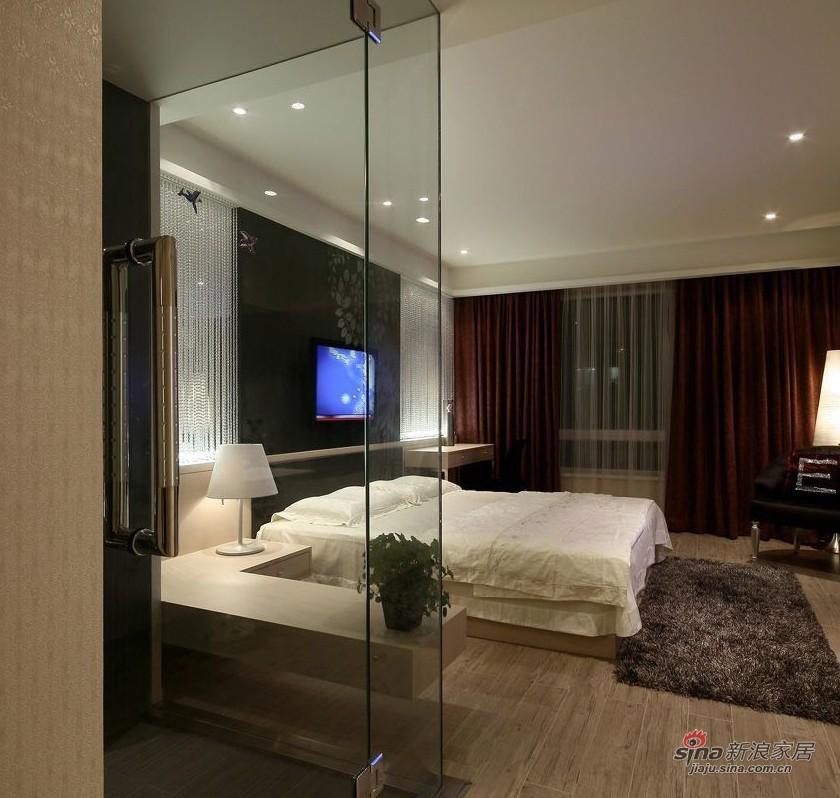 简约 三居 卧室图片来自用户2737782783在年轻业主89㎡时尚三口之家设计33的分享
