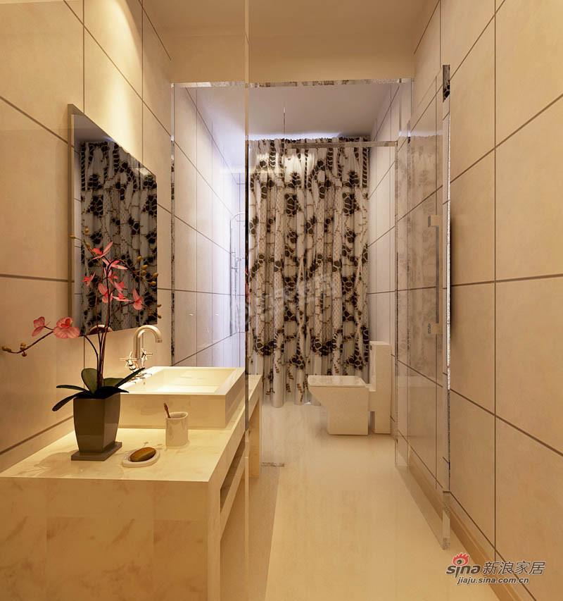 欧式 三居 卫生间图片来自用户2746953981在【多图】天津华侨城66的分享