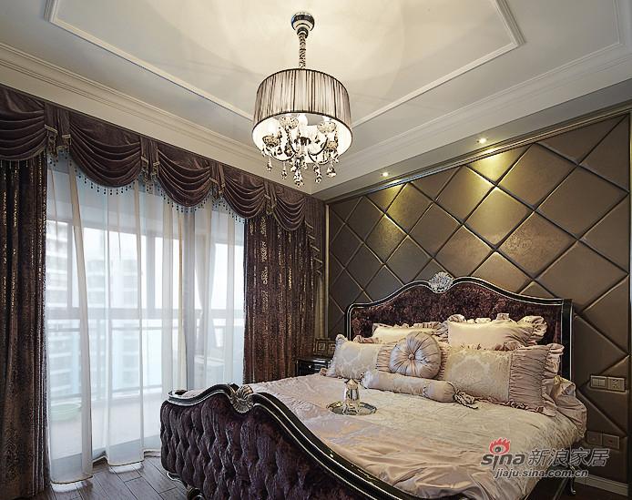 新古典 三居 卧室 公主房图片来自用户1907701233在【高清】134平新古典精致大气3居26的分享