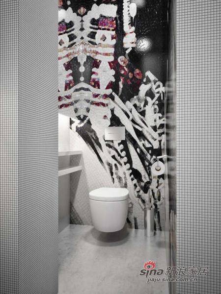 简约 公寓 卫生间图片来自用户2737782783在150平宽敞明亮又实用美观公寓64的分享
