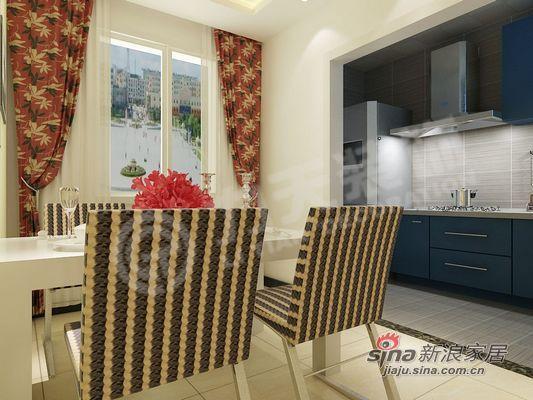 简约 二居 厨房图片来自阳光力天装饰在清爽美居还您一份清新的感觉85的分享