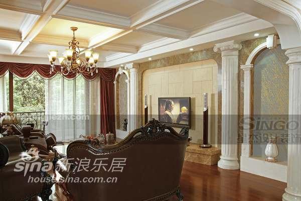 欧式 四居 客厅图片来自用户2745758987在美式情怀 上海滩花园洋房47的分享