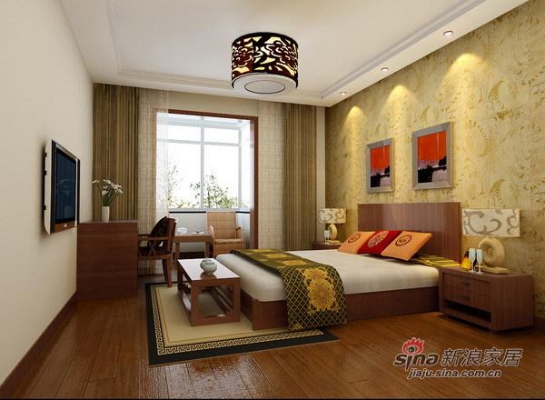 简约 二居 卧室图片来自用户2738813661在魅力清河苑风情二居室74的分享