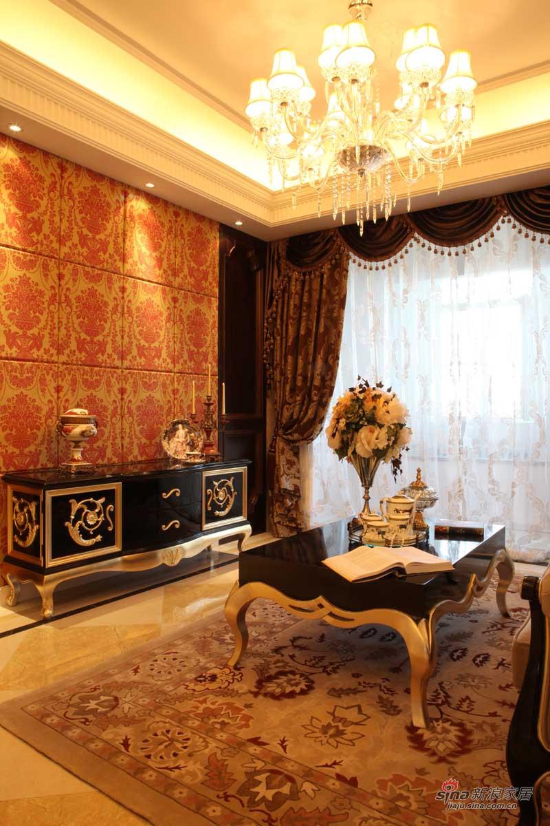 新古典 三居 客厅图片来自用户1907664341在【高清】139平法式新古典风格样板间72的分享