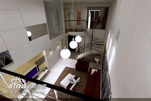 简约 复式 客厅图片来自用户2737786973在都市美墅131的分享