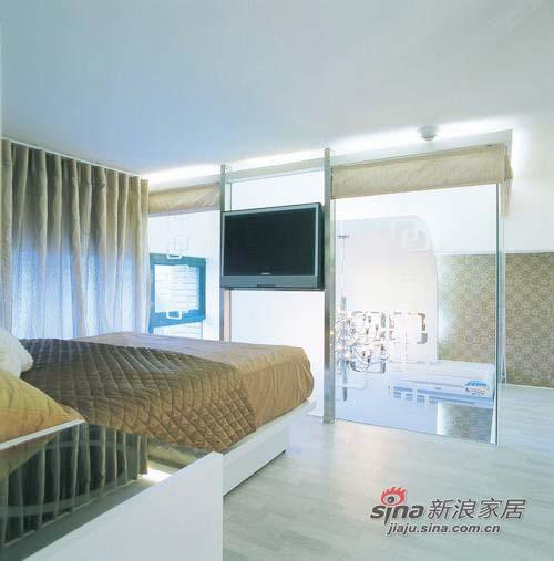 简约 复式 卧室图片来自用户2557979841在抠门夫妻6万装36平小复式15的分享
