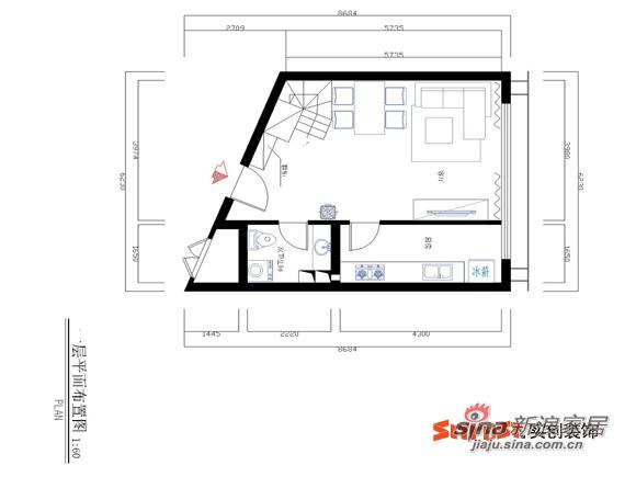 简约 loft 其他图片来自用户2737735823在8.5万打造130平北京像素loft简约风格17的分享