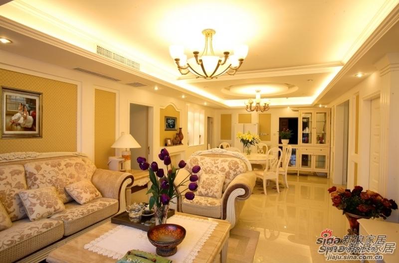 欧式 三居 客厅图片来自用户2557013183在【多图】海棠湾欧美风格设计69的分享
