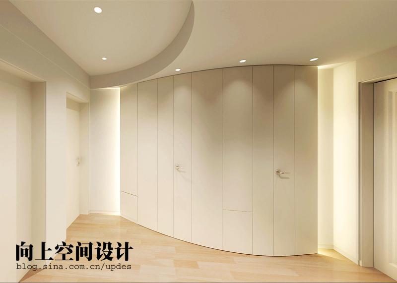 简约 二居 玄关图片来自用户2738820801在旧房改造纯色美家19的分享