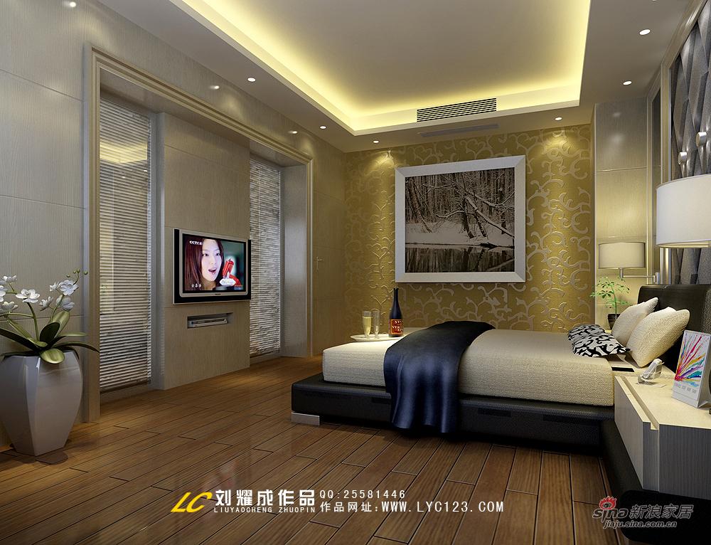 简约 复式 卧室图片来自用户2739153147在【高清】品味古典与现代交相辉映的复式豪宅58的分享