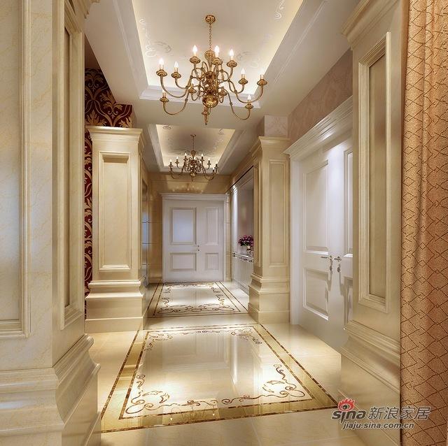 欧式 别墅 玄关图片来自用户2772856065在自在香山欧式古典13的分享