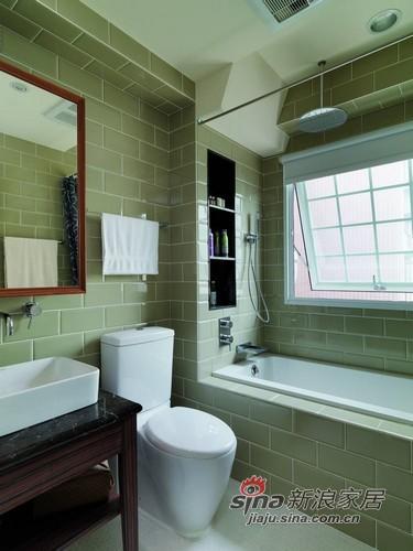 现代 其他 浴室 白领  大气 背景墙图片来自用户2557006183在英国乡村60平小户型魔力变身96的分享