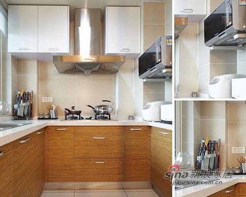 简约 二居 厨房图片来自用户2557979841在5万装89平暖意超2居美家30的分享