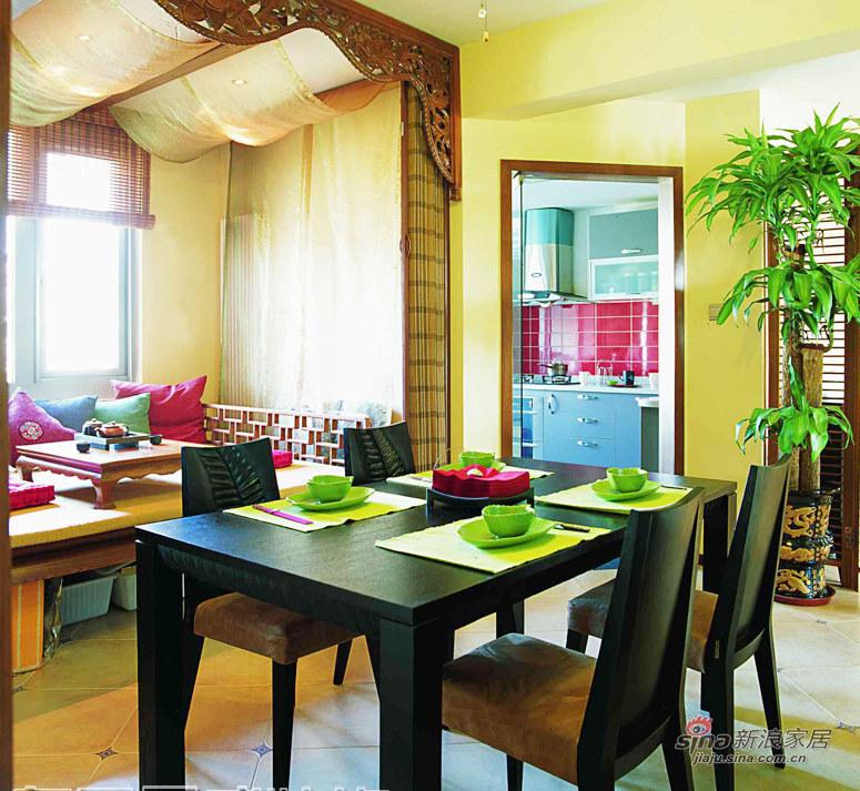 简约 三居 餐厅图片来自用户2558728947在两室两厅打造完美生活休闲居室87的分享