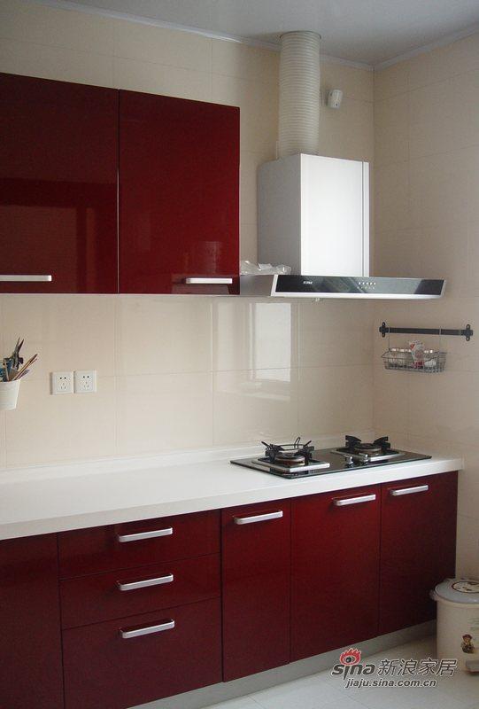 简约 别墅 厨房图片来自用户2739153147在简约现代风格的别墅58的分享