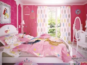 儿童房-迪士尼儿童实木&手绘家具55