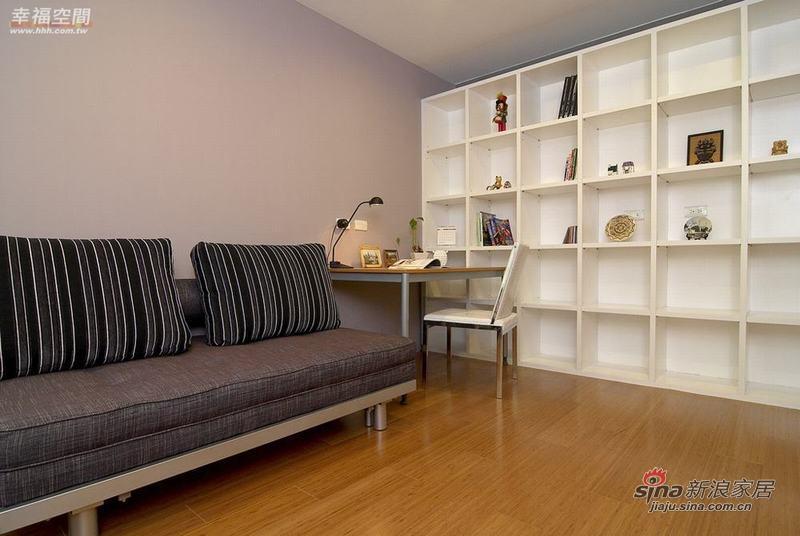 简约 三居 书房图片来自幸福空间在132平简约不简单的现代时尚3居57的分享
