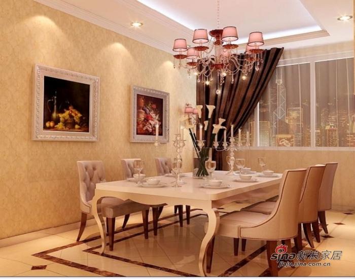 欧式 三居 餐厅图片来自用户2745758987在我的专辑245161的分享