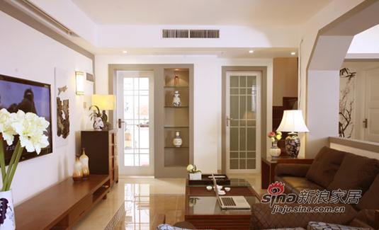 简约 复式 客厅图片来自用户2557979841在中国风情独特复式居所19的分享