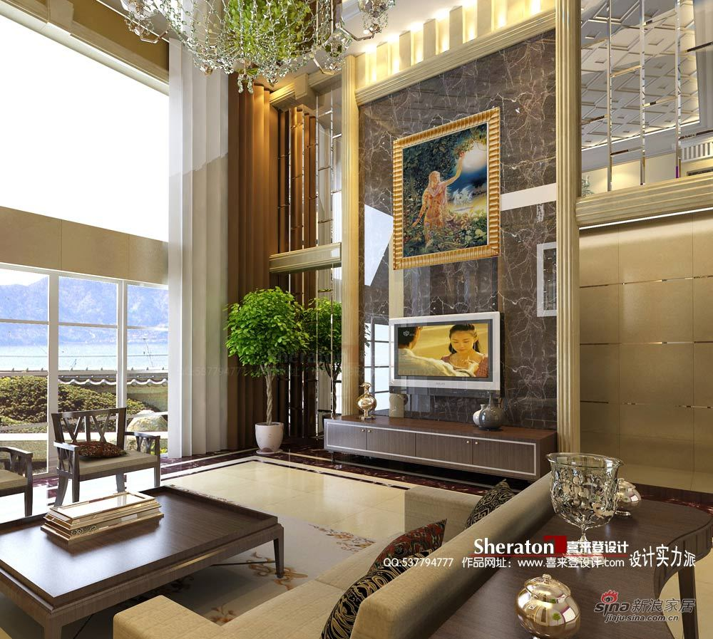 新古典 别墅 客厅图片来自用户1907664341在我的专辑383559的分享
