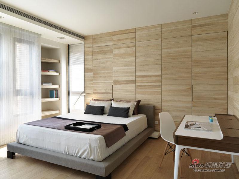 简约 四居 卧室图片来自用户2738829145在【多图】简约舒适色调淡雅88的分享