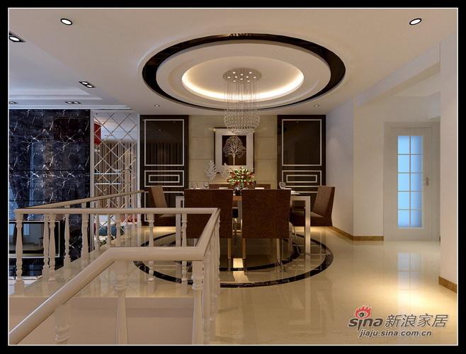 简约 别墅 餐厅图片来自用户2737782783在11.9万舒适203平现代简约别墅58的分享