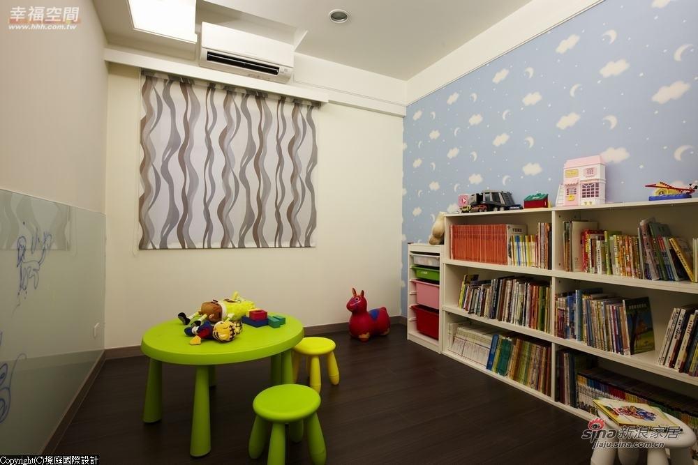 新古典 三居 儿童房图片来自幸福空间在【高清】165平诠释新古典居家对称线条13的分享