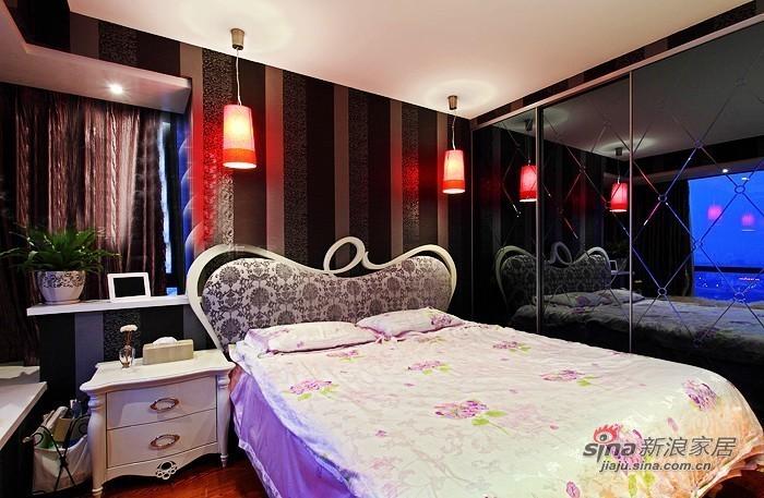 现代 二居 卧室图片来自佰辰生活装饰在小两口晒70平绿色清新婚房68的分享