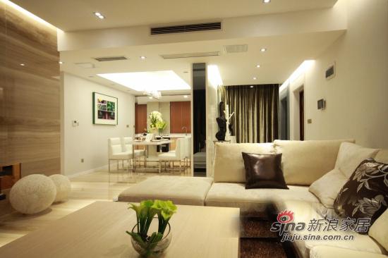 现代 三居 客厅图片来自用户2771250253在如沐春风 125平水漾幸福居90的分享