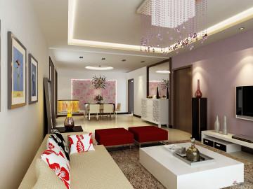 设计师打造精致融侨锦江两居室装修设计73