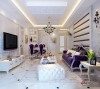 130平欧式高贵浪漫质感家居