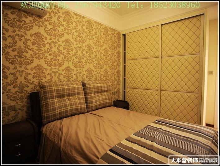 美式 三居 卧室图片来自用户1907685403在【多图】日月光90平米现代美式风格39的分享