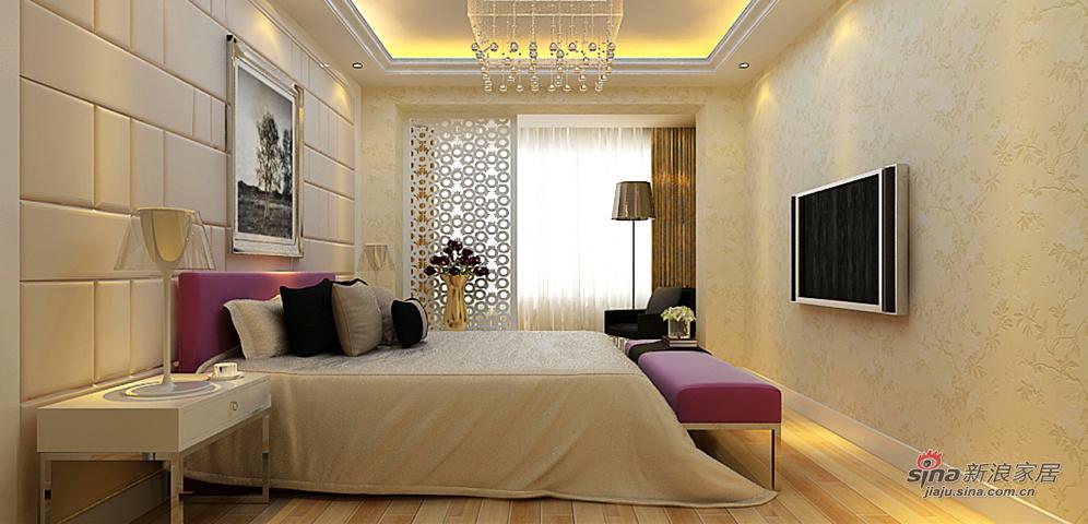 简约 复式 卧室图片来自用户2737759857在紫色淡雅复式现代简约风格94的分享
